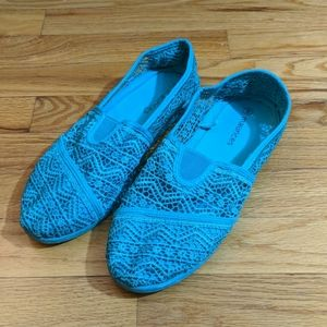 Maurices Blue lace Flat loafer